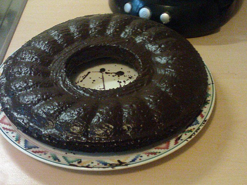 mein erster Kuchen