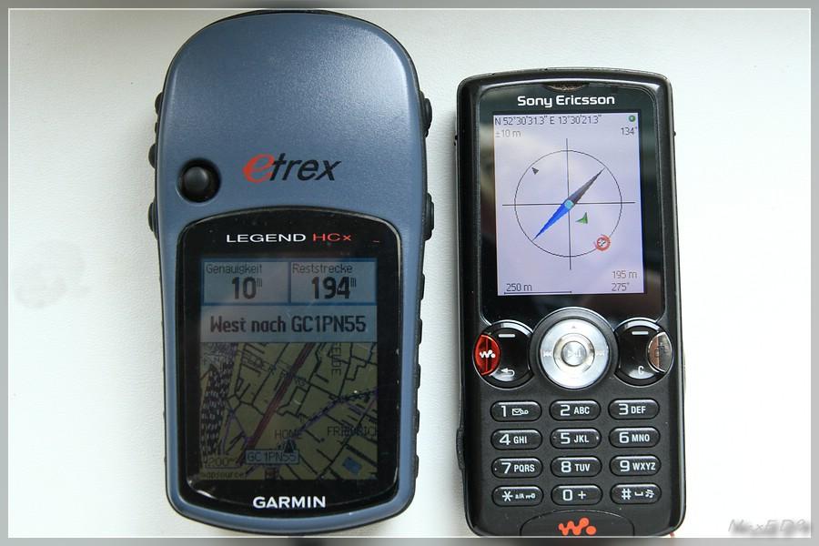 {nv} Genauigkeit eTrex Legend HCx - BT-GPS-Maus
