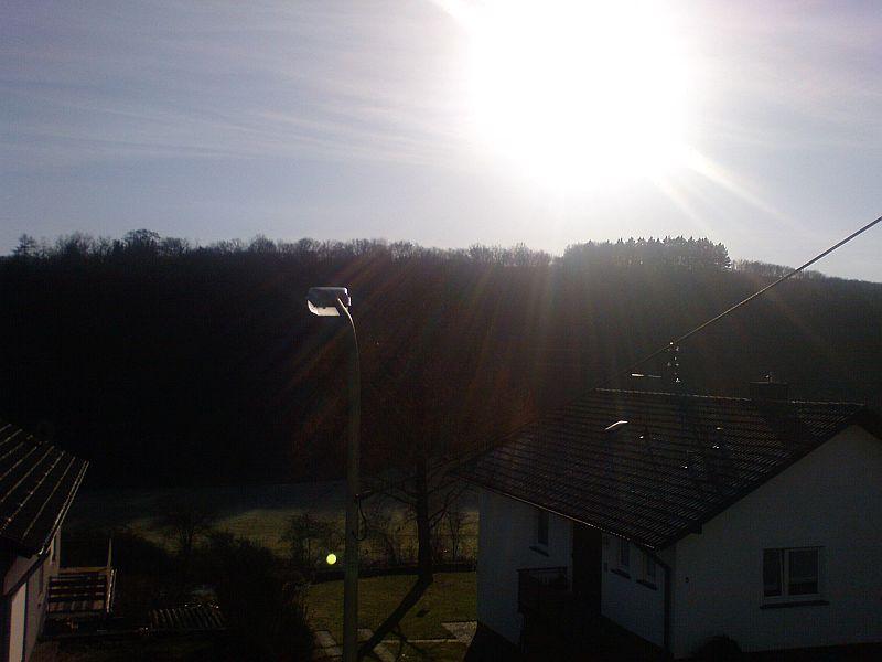 {xm09} Sonne über Odenbach