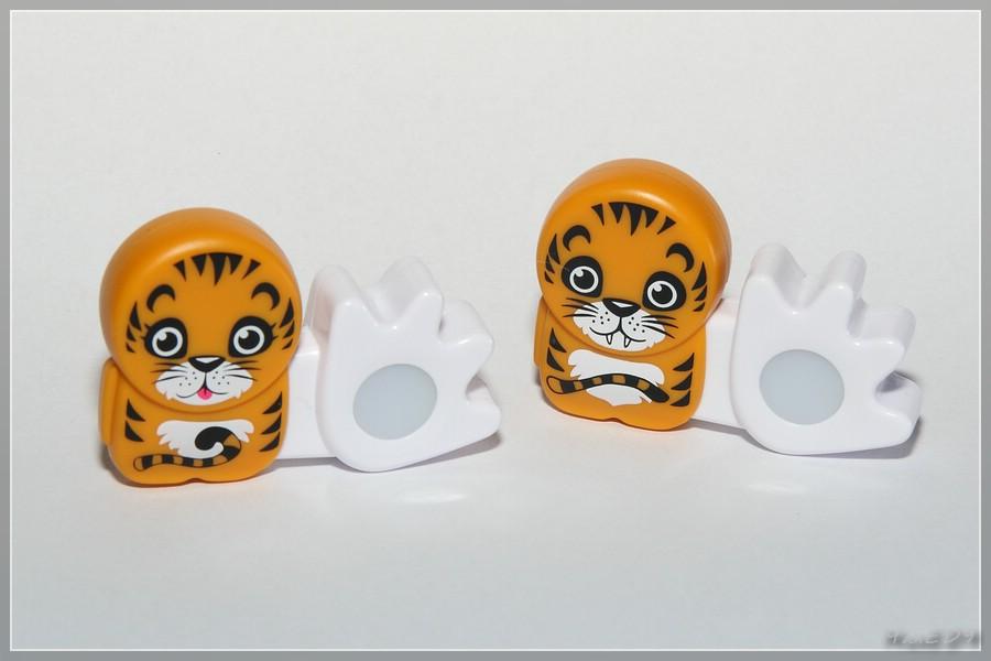 Tigerin und Tiger Poken