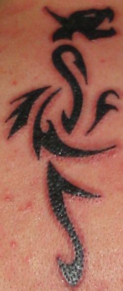 {tattoo} Tattoo groß (frisch)