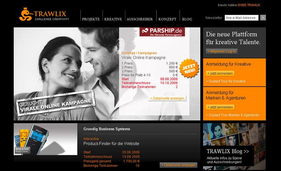 {trx} Trawlix-Website