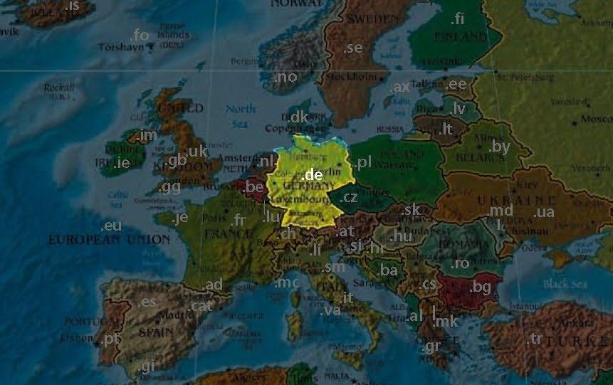 Domain-Karte