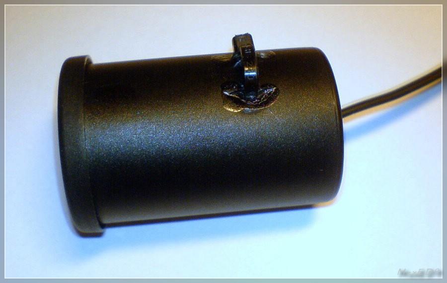{usb1} Dose seitlich mit Kabelbinderschlaufe